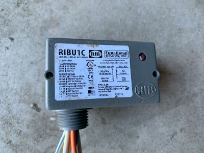 Functional Devices Inc RIBU1C Relay