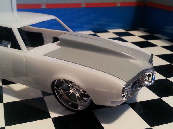 Lex' Scale Modeling Resin Outlaw Hood '68 Firebird