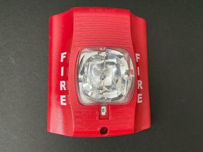 System Sensor SR Fire Alarm SpectrAlert Advance Remote Strobe NO MOUNTING PLATE