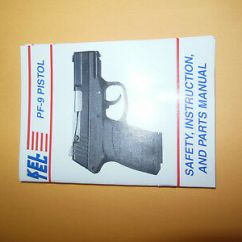 Kel Tec Pf9 Parts Diagram Drayton Zone Valve Wiring Books Video Instruction Manual Keltec Pf 9 Pistol And Maintenance