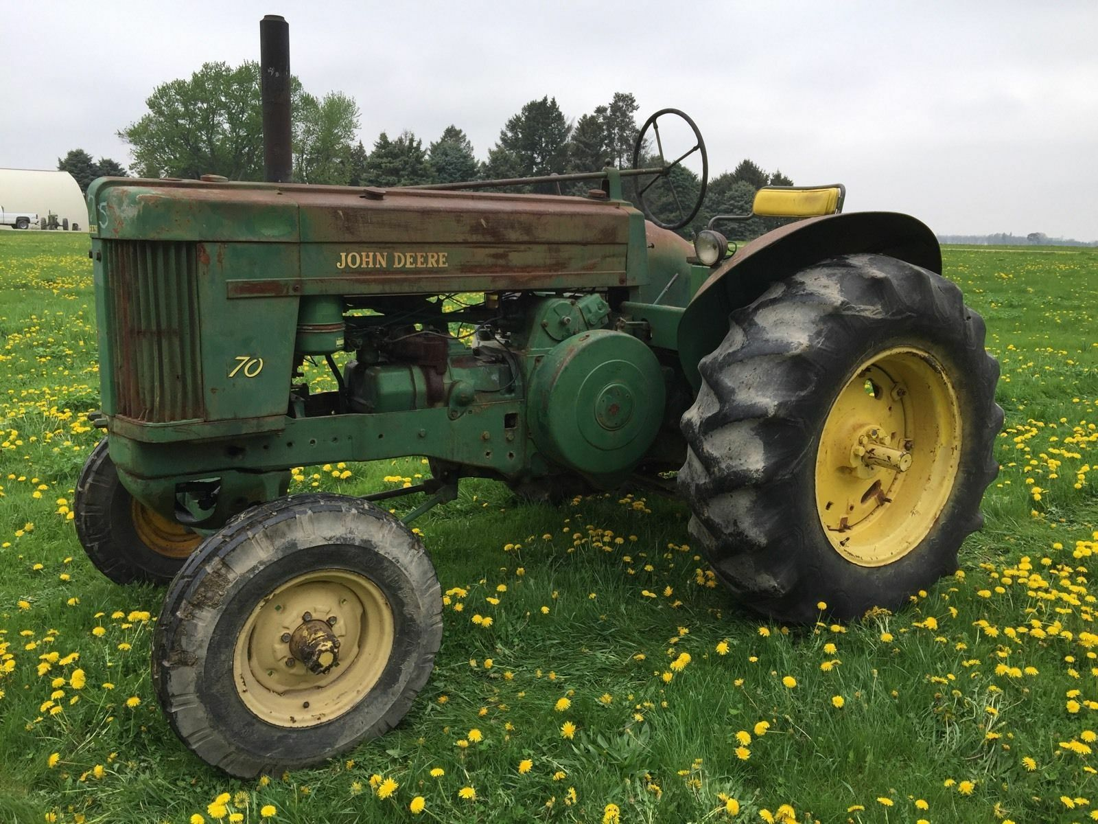 john deere g tractor for sale ford electronic ignition wiring diagram how to restore classic tractors ebay