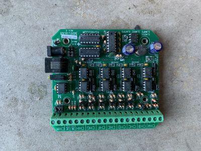 RE Smith MHUBX8 8 Port RS485 Repeater Hub