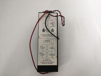 Siemens Cerberus Pyrotronics BT-33 BT-34 Fire Alarm Battery Set