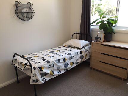 Black Antique Bed Mattress