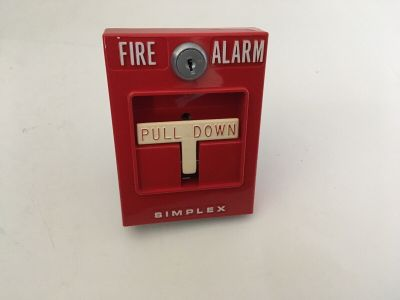 *NIB* *New* *Vintage* *Rare* Simplex 4251-41E Fire Alarm Dual-Stage Pull Station