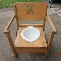 Wooden Potty Training Chair Hon Volt Review Vintage Childs | Ebay