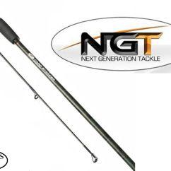 Ngt Fishing Chair Adirondack Plastic 2 X Carp Stalker Black 8ft 2pc Stalking Rod