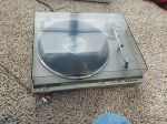 Vtg Technics SL-Q350 direct Drive Automatic Turntable System with  cover READ!