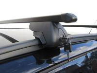 Roof Rack Rail Bars Locking Vauxhall Zafira Tourer 2011 ...