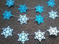 How to Make Paper Snowflake Garland | eBay