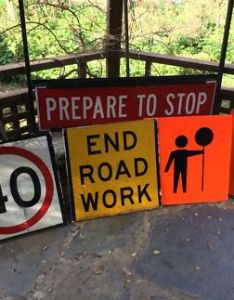 Construction signs also wedding seating chart sign other home  garden gumtree australia rh