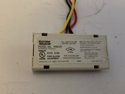 System Sensor M501M Fire Alarm Monitor Module