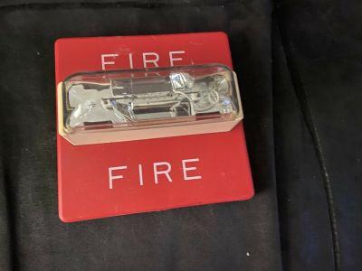 Wheelock RSS-241575W Fire Alarm Remote Strobe Wall Red