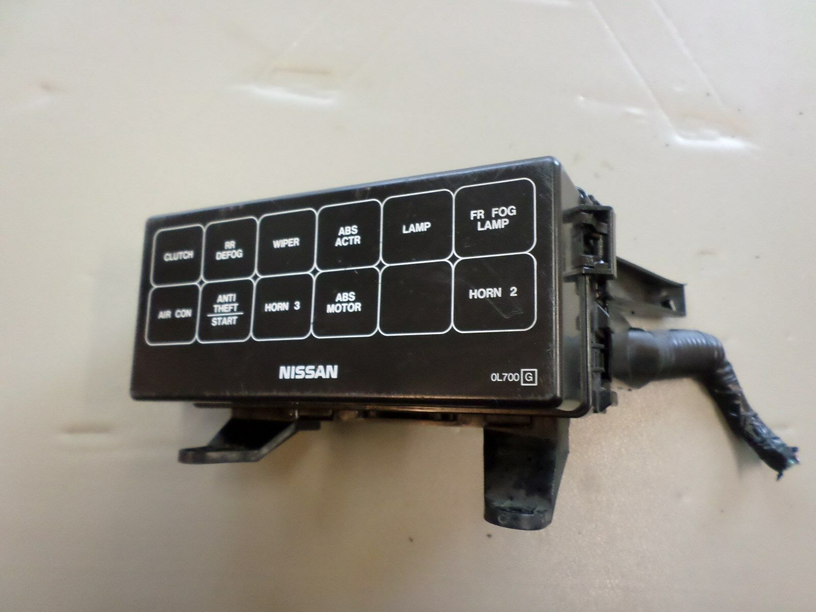 hight resolution of 1995 1999 nissan maxima oem underhood fuse box in good working condition when it