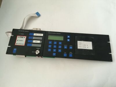 Grinnell Thorn Autocall 940502 + 976128 Fire Alarm TFX Operators Display Module