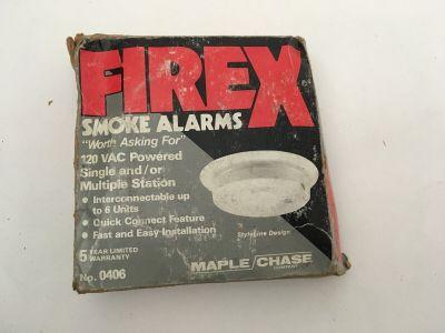 *NIB* *New* Kidde FireX 0406 Fire Alarm Residential Smoke Detector 120 VAC