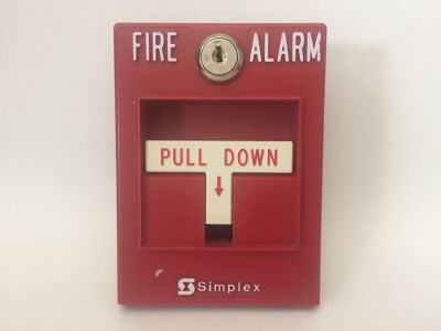 Simplex 2099-9795 Addressable Mapnet II Fire Alarm Pull Station