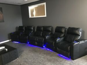 home theater chairs canada lavender accent chair theatre buy and sell furniture in kijiji power reclining