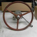 Vintage Chris Craft Others 20s 30s Wood Boat Rubber Steering Wheel Shift Hub Ebay