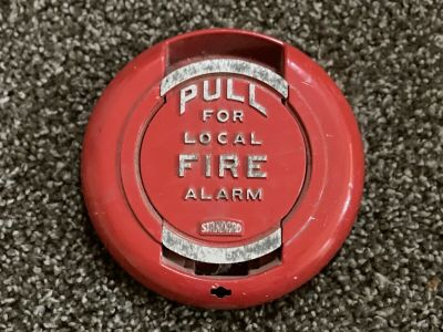 *Vintage* *Rare* Standard Electric 200179 Fire Alarm Pull Station Cover (U11)