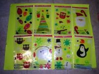 NEW-Holiday-Time-Window-Gel-Clings-Holiday-Decorations ...