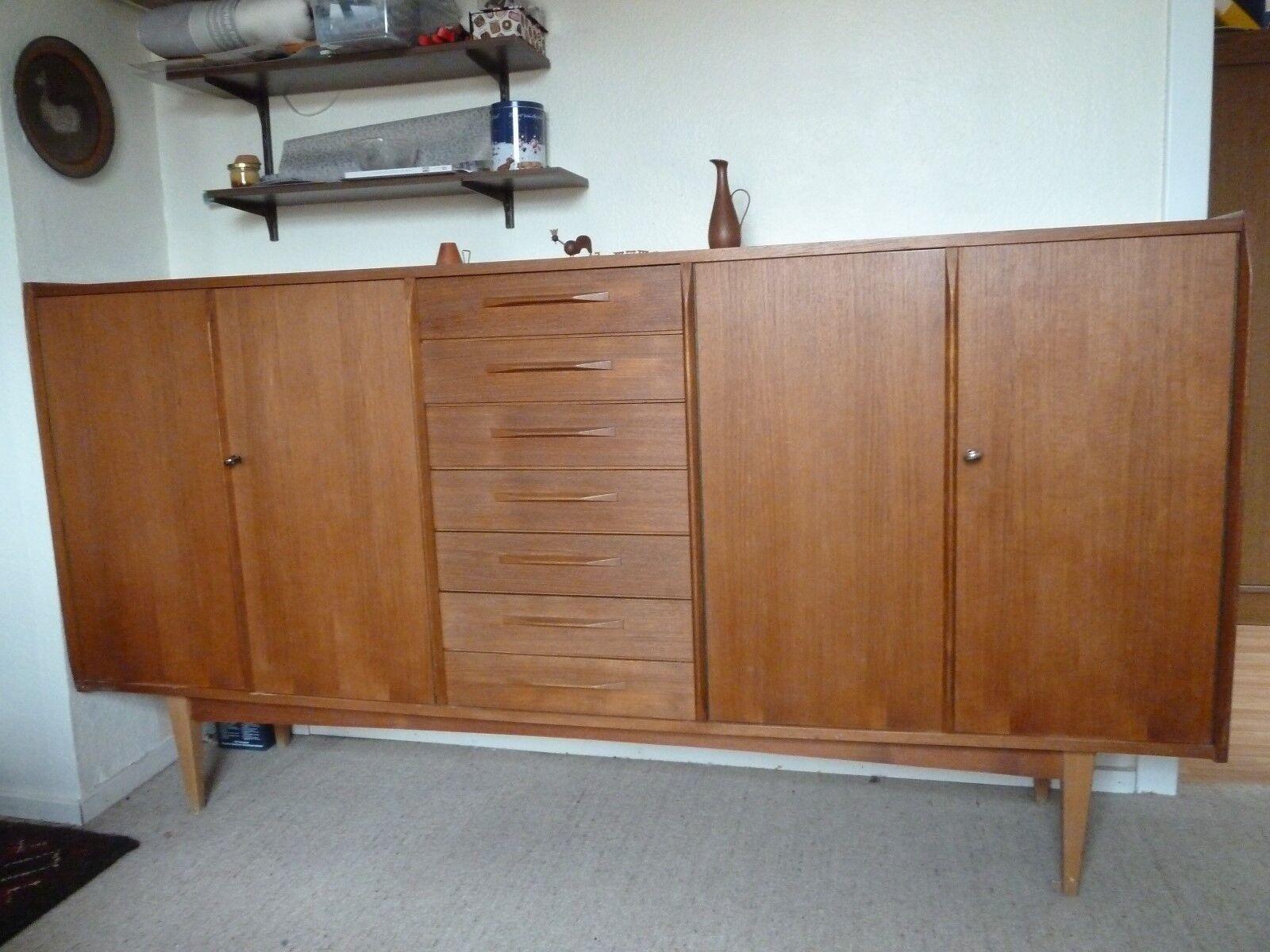 Vintage Sideboard Gunstig Retro Kommode Wei Beautiful Finest Full