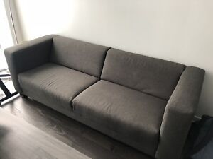 eq3 stella sofa dimensions striped covers kijiji in toronto gta buy sell save with grey lightly used