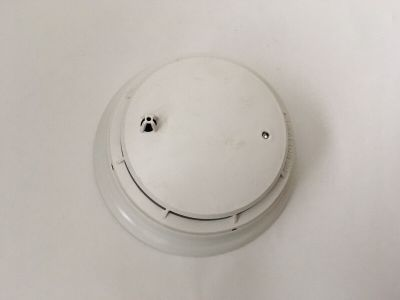 Simplex 4098-9602 Fire Alarm Photoelectric Smoke Detector + 4098-9788 Base