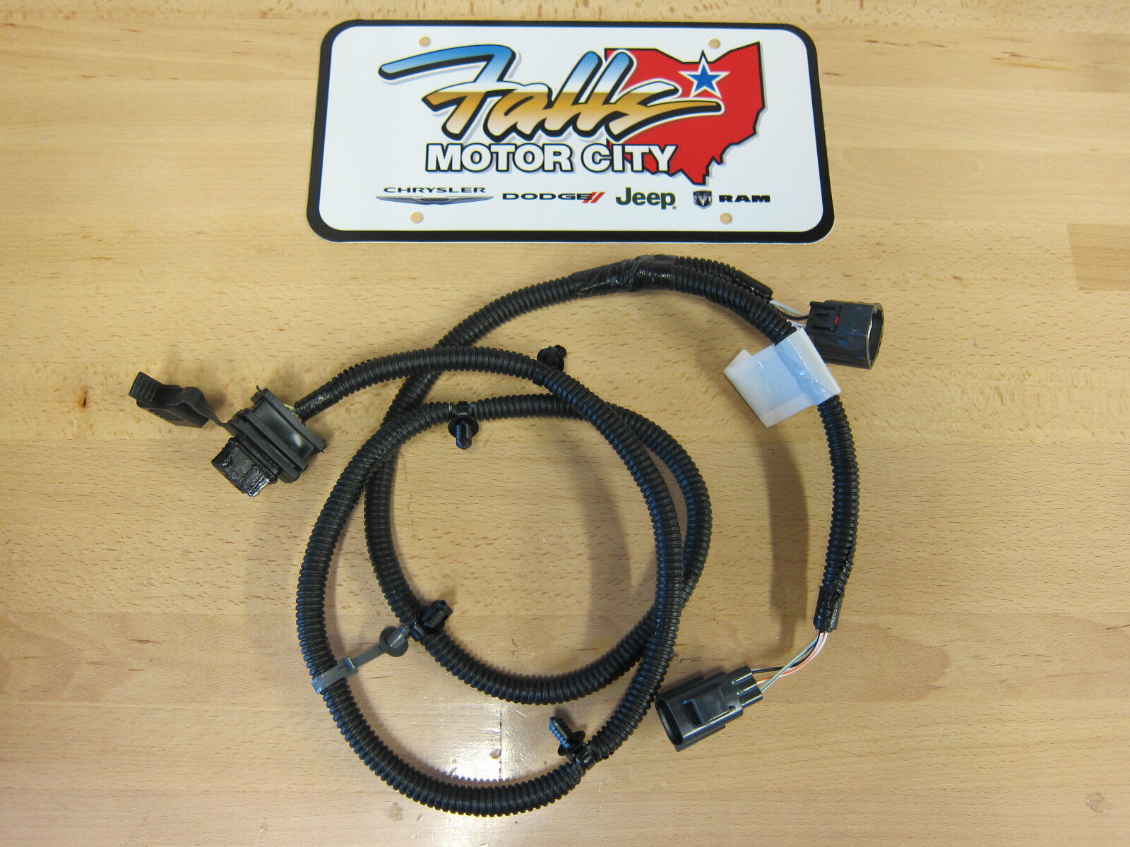 Mopar Jeep Wrangler Tow Vehicle Wiring Harness Auto Electrical 2007 1997 Trailer Hitch Kit