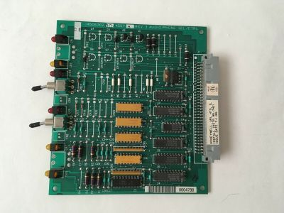 Honeywell 14506302-004 Fire Alarm FS90 FMS Audio Phone Select Control Board