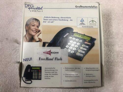 Ergophone DFG Großtastentelefon Seniorentelefon Notrufsender Notruftelefon
