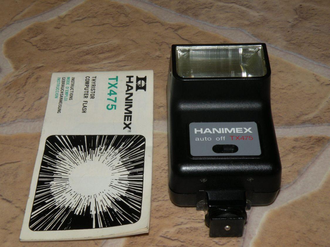 HANIMEX TX475 Kamera Blitzgerät