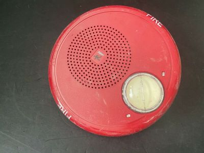 EST Edwards GCFR-S7VM Fire Alarm Speaker/Strobe Ceiling Red