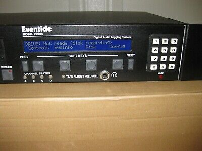 Eventide VR204, Digital Audio Logging System, Rack mountable! Powers up!