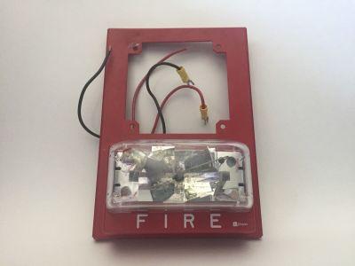Simplex 4904-9139 Fire Alarm Remote Strobe Plate