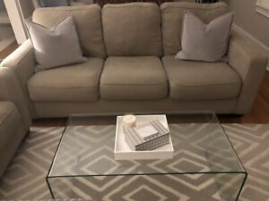 living room waterfall furniture modern corner tv units for kijiji in ontario buy sell save with glass coffee table