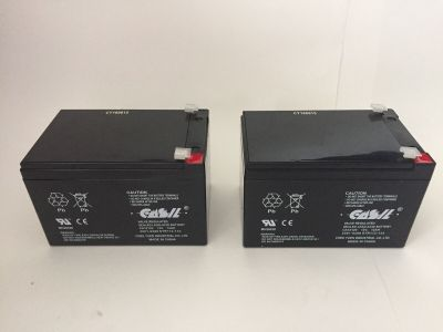 *NIB* *New* *Lot of 2* Simplex 2081-9288 Fire Alarm Control Battery 12V 12aH