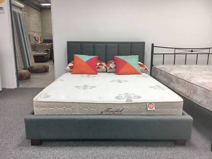Delivery Today Quality Luxury Comfortable Double Bed And Mattress