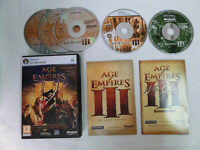 Age of Empires III - 3 - Complete Collection für PC - Top Zustand !