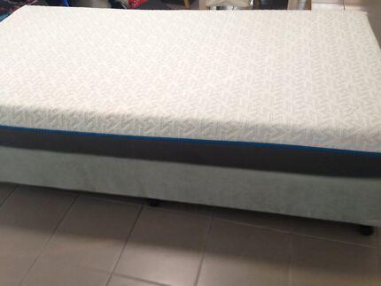 Mattress Memory Foam King Size Single With Bed Base