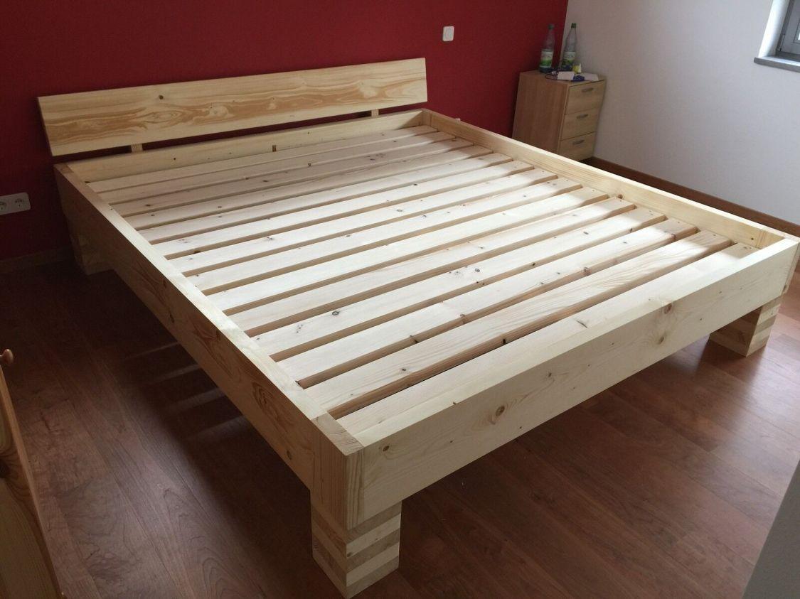 Massivholzbett / Futonbett / Doppelbett (Paul) alle Größen Farben 100%Handarbeit