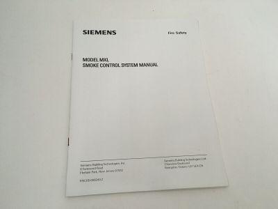 Siemens Cerberus Pyrotronics Fire Alarm MXL Smoke Control System Manual