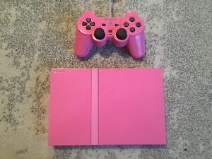 PS2 Console PINK Sony PlayStation 2 Slim Limited Edition