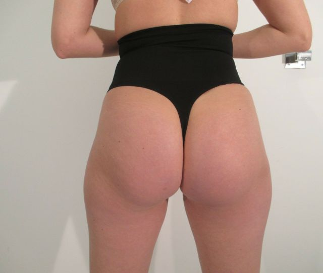 High Waist Control Thong Shaper