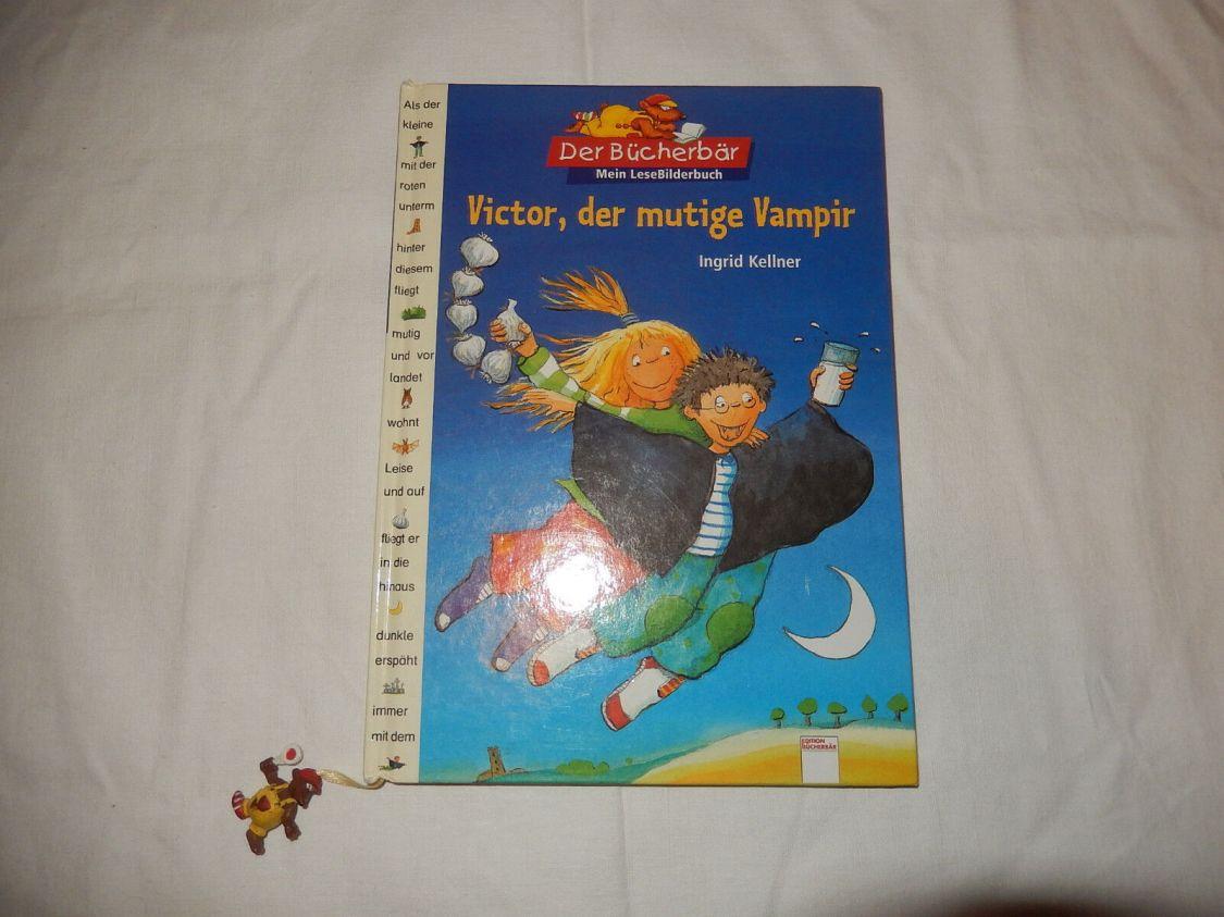 Victor, der mutige Vampir Ingrid Kellner Bücherbär Mein Lesebilderbuch Bilder