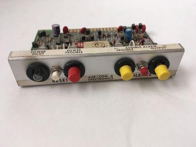 Spectronics 650/COM-A Fire Alarm Controller Module Common Card
