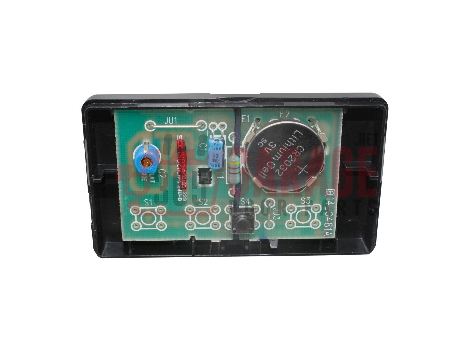 Open Craftsman Garage Door Remote Code Button