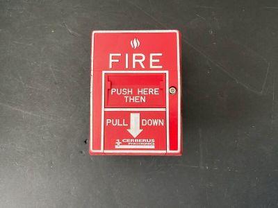 Siemens Cerberus Pyrotronics MSI-20B Fire Alarm Addressable Pull Station