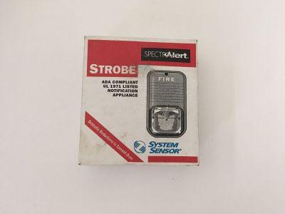 *NIB* *New* System Sensor S241575 SpectrAlert Fire Alarm Remote Strobe