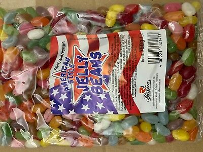 american Jelly Beans in 4 x 750g Einzelpacks + Testpack Jelly Belly Beans Bohnen